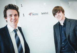Daan en Samuel De Wever, Young Top Managers 2015