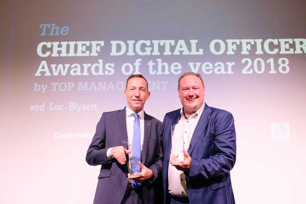 Benoît Degotte en Geert Van Mol verkozen tot Belgische Chief Digital Officer 2018 ! Wat is de missie van een CDO ? Wat is echt de kracht van actie ?