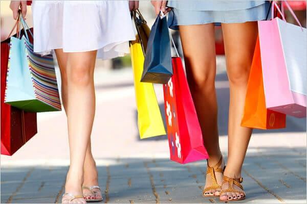 De smartphone brengt klanten in winkels op andere gedachten