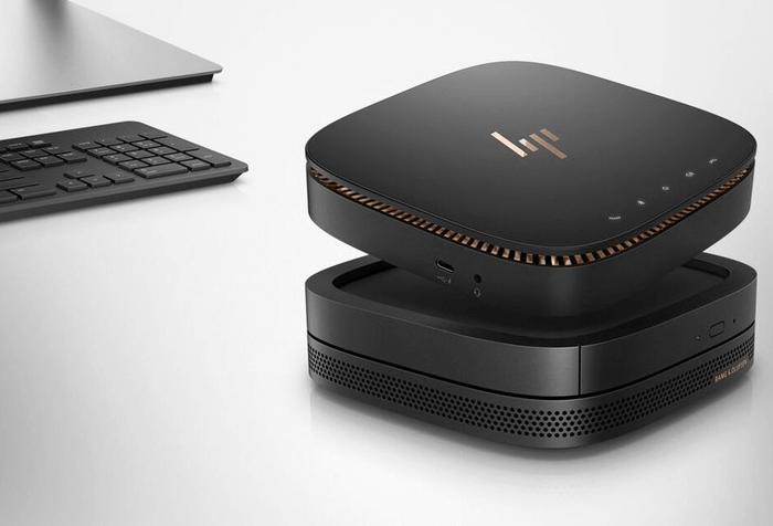 Elite Slice : HP vindt het concept van de desktop-pc opnieuw uit