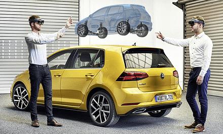 Volkswagen gaat de volgende Golfs ontwerpen met HoloLens