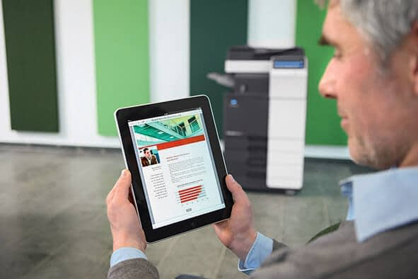 KONICA MINOLTA – «Document on the go»… Mobiel printen